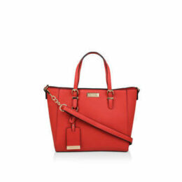 Carvela Fan Winged Tote - Orange Tote Bag