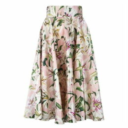 Dolce and Gabbana Lilium Midi Skirt