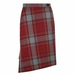 Vivienne Westwood Tartan Infinity Skirt