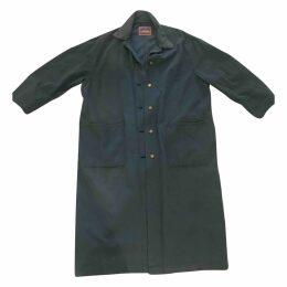 Blå Konst coat