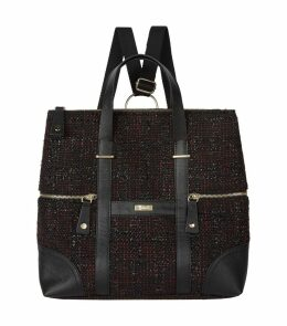 Tweed Convertible Backpack