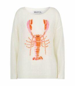 Knitted Lobster Sweatshirt