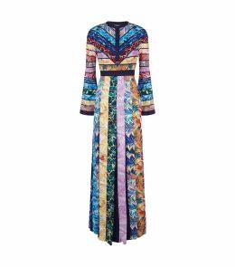 Desmine Multi Print Maxi Dress