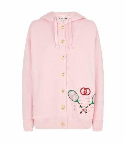 Tennis Embroidery Hoodie