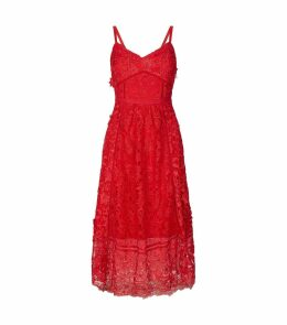 Lace Valens Midi Dress