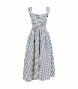 Patti Gingham Belted Dress