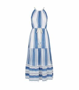 Welela Stripe Halterneck Dress