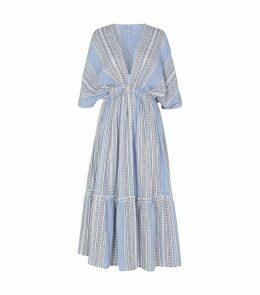 Amira Plunge Midi Dress