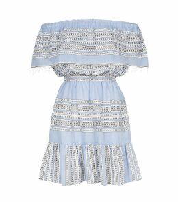Amira Off-The-Shoulder Ruffle Dress