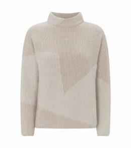 Block Pattern Sweater
