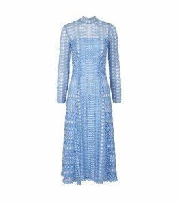 Bamboo Lace Midi Dress