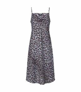 Leopard Print Giovanna Slip Dress
