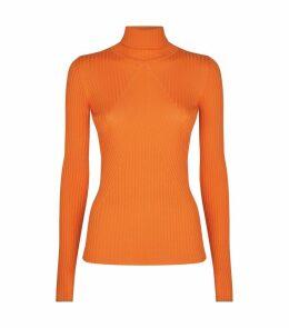Slim Polo Neck Sweater