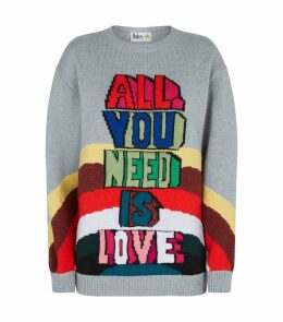x The Beatles All You Need Is Love Sweater
