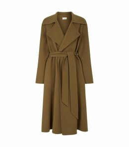 Cashmere-Wool Efo Coat