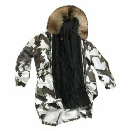 White Cotton Coat