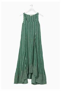 Womens FatFace Green Lula Linear Geo Dress -  Green