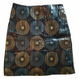 Eel mid-length skirt