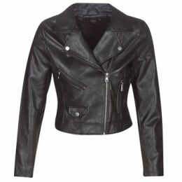 Only  ONLENYA  women's Leather jacket in Black