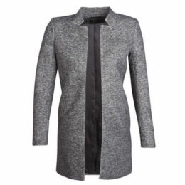 Only  ONLSOHO  women's Coat in Grey