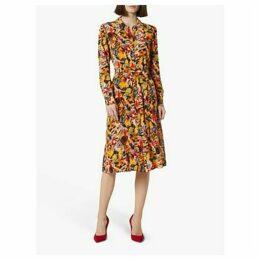 L.K.Bennett Runa Silk Shirt Dress, Multi
