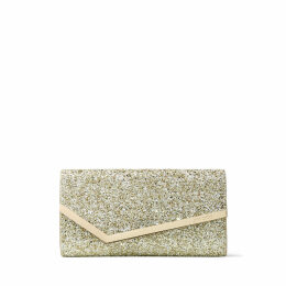 EMMIE Moon Sand Infinity Glitter Fabric Clutch Bag