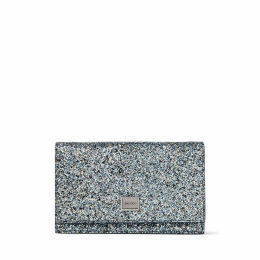 LIZZIE Electric Blue Mix Party Coarse Glitter Fabric Mini Bag