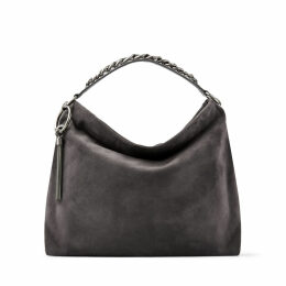 CALLIE/L Dusk Suede Slouchy Shoulder Bag