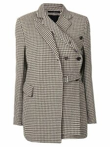 Rokh short houndstooth coat - Neutrals