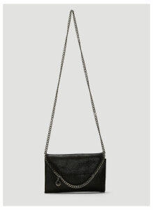 Stella McCartney Falabella Chain Mini Shoulder Bag in Black size One Size