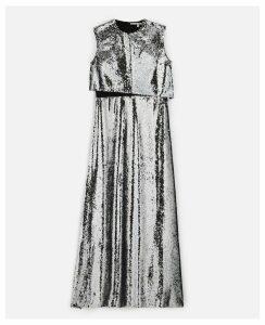 Stella McCartney GREY Merredin Sequin Dress, Women's, Size 8