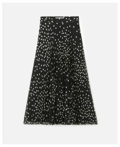 Stella McCartney Black Alpha Skirt, Women's, Size 14