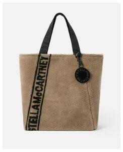 Stella McCartney White FFF Tote, Women's, Size OneSize
