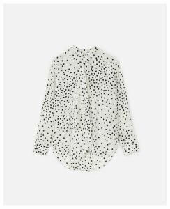 Stella McCartney White Kiera Shirt, Women's, Size 16