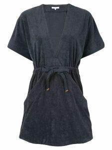 Venroy Terry Towel mini dress - Blue