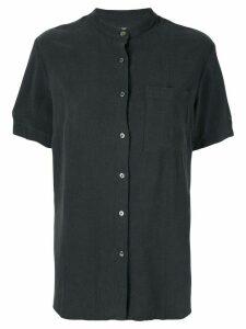 Venroy Grandad Collar shirt - Blue