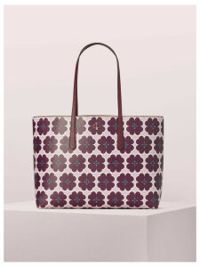 Molly Graphic Clover Large Tote - Orchid Multi - One Size