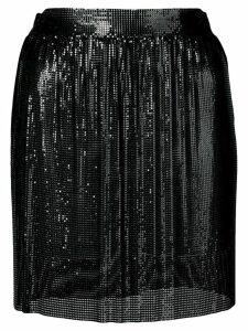 Fannie Schiavoni chainmail mini skirt - Black