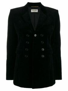 Saint Laurent double breasted blazer - Black