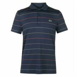 Lacoste Sport Striped Technical Golf Polo
