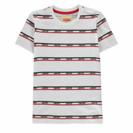 Levis Bandero Stripe T Shirt