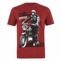 Barbour International Stand & Ride T Shirt