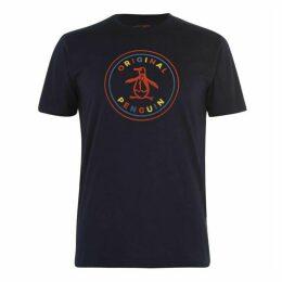 Original Penguin Logo Colour T Shirt