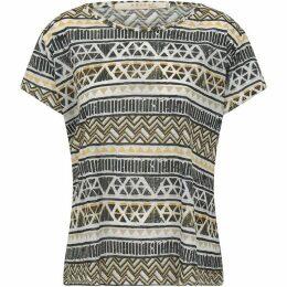 Nougat Aztec Scoop T/Shirt
