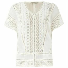 All Saints Cindi Lace Top