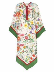 Gucci floral print Kimono dress - Multicolour