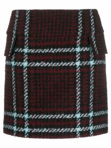 Mulberry tartan pattern skirt - Red