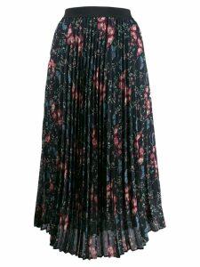 Semicouture pleated skirt - Black