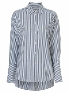Lee Mathews Riley stripe shirt - Blue