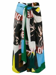 Dorothee Schumacher printed midi skirt - Green